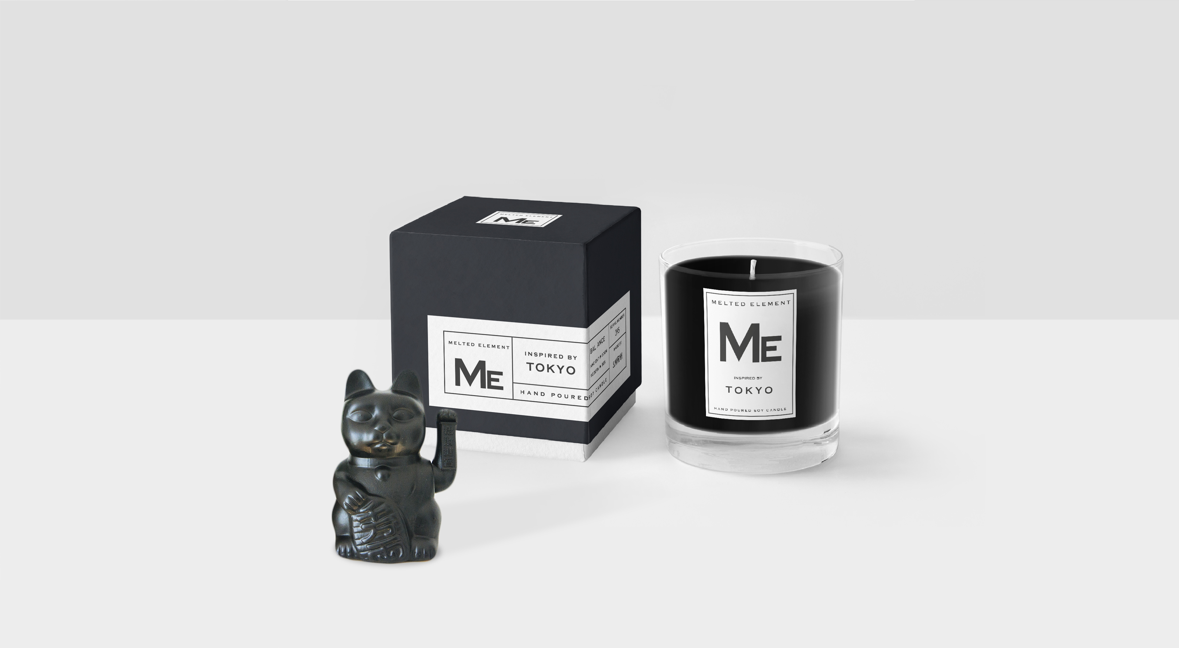 Melted Elements Candle